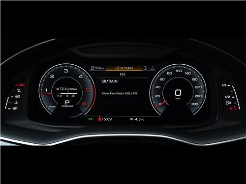 Audi Q7 (2020) приборная панель