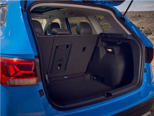 Предпросмотр volkswagen taos (2022) багажное отделение
