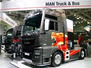 Седельный тягач MAN TGX ориентирован на перевозку тяжелых грузов на большие расстояния