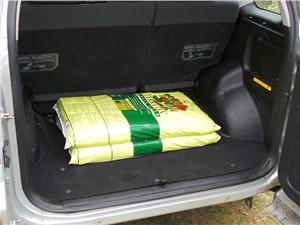 Chery Tiggo 2012 багажное отделение