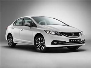 В России начались продажи новой версии седана Honda Civic с увеличенным клиренсом