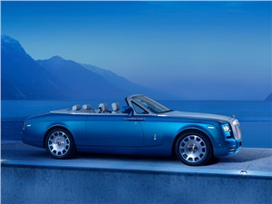 Предпросмотр rolls-royce phantom drophead coupe waterspeed collection 2014 на суше и на море