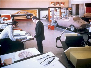 Дизайн-студия Opel. Между прошлым и будущим