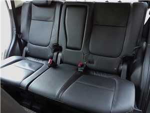Mitsubishi Outlander 2014 задний диван