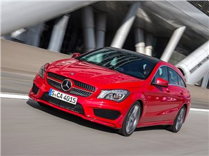 Mercedes-Benz CLA Shooting Brake 2016 вид спереди