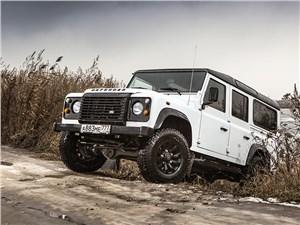 Предпросмотр land rover defender 110 2012 вид спереди