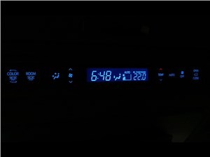 Toyota Alphard 2015 панель климат-контроля