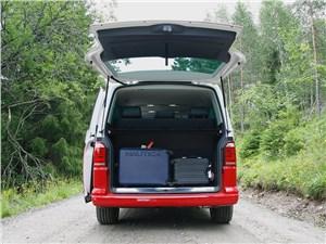 Предпросмотр volkswagen multivan 2015 багажное отделение