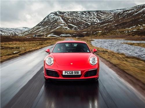 Предпросмотр porsche 911 carrera s 2016 вид спереди