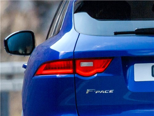 Предпросмотр jaguar f-pace 2016 задний фонарь