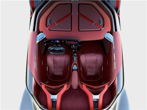 Предпросмотр renault trezor concept 2016 салон