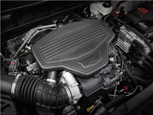 Предпросмотр cadillac xt5 2017 двигатель