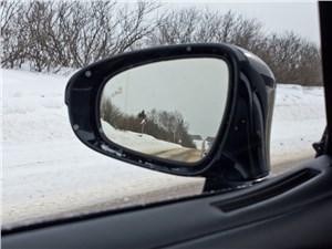 Lexus LS 600h F Sport 2012 боковое зеркало