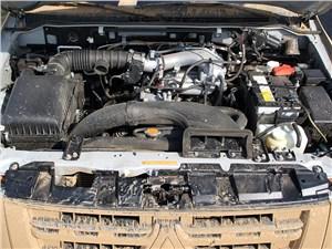 Mitsubishi Pajero 2008 двигатель