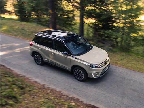 Suzuki Vitara 2015 вид сверху