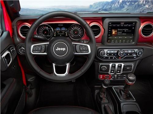 Нестандартный подход (Jeep Wrangler, Land Rover Defender, Land Rover Freelander, Mitsubishi Pajero, Suzuki Grand Vitara, Suzuki Jimny, Toyota RAV4) Wrangler - Jeep Wrangler 2018 салон