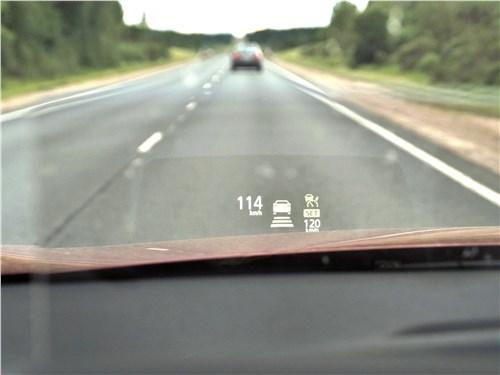 Mitsubishi Eclipse Cross 2018 проекционный дисплей