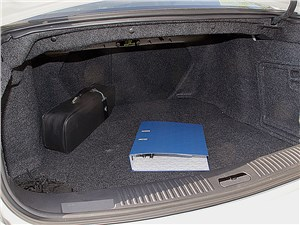 Предпросмотр cadillac cts-v 2009 багажное отделение