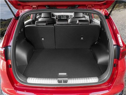 Kia Sportage GT Line 2019 багажное отделение