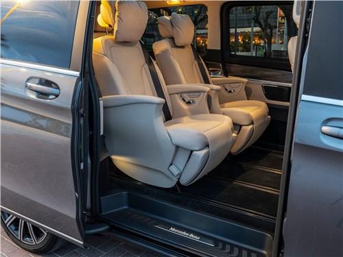 Предпросмотр mercedes-benz v-klasse 2020 кресла для пассажиров