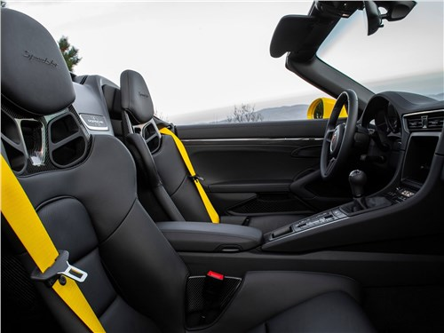 Предпросмотр porsche 911 speedster 2019 кресла