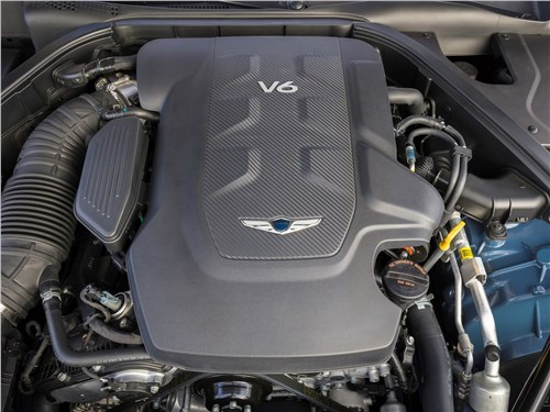 Предпросмотр genesis g80 2018 двигатель