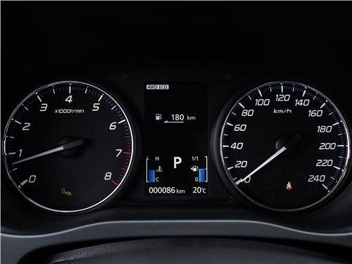 Mitsubishi Outlander 2018 приборная панель