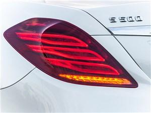 Mercedes-Benz S-Klasse 2013 задний фонарь