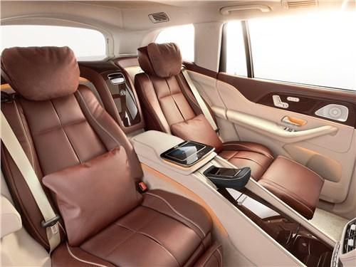 Предпросмотр mercedes-benz gls 600 maybach 2021 кресла для пассажиров