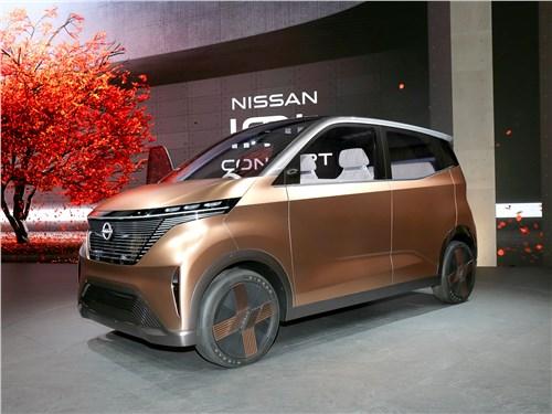 Nissan IMk Concept 2019 вид спереди