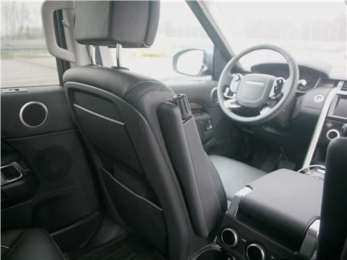 Land Rover Discovery 2017 складные подлокотники
