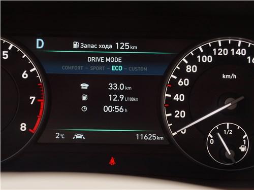 Hyundai Genesis G90 2019 приборная панель