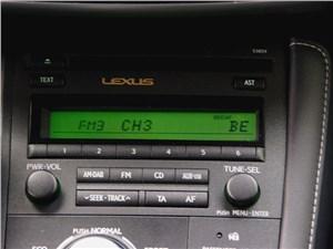 Предпросмотр lexus ct 200h 2011 аудиосистема