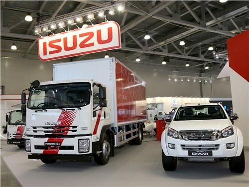 Isuzu Forward 18.0 и Isuzu D-Max в комплектации Arctic Trucks