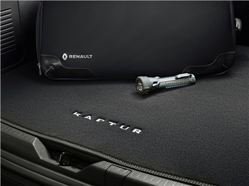 Renault Kaptur 2020 багажное отделение