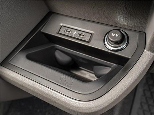 Volkswagen Transporter 2019 Разъемы USB Type-C