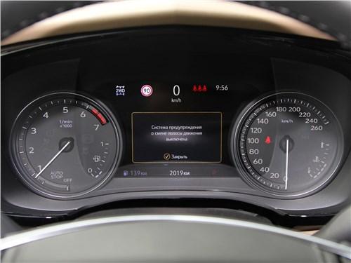 Cadillac XT5 2020 приборная панель