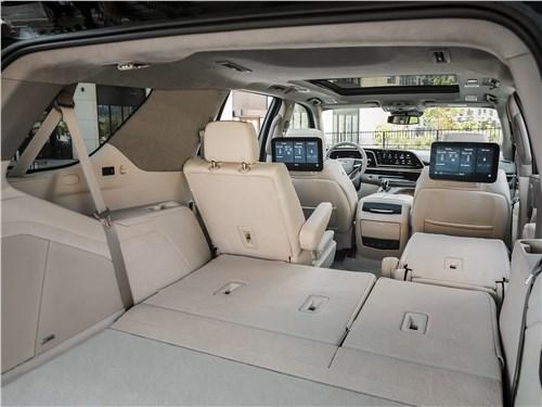 Cadillac Escalade (2021) багажное отделение