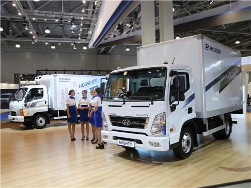 «Среднетоннажник» Hyundai Mighty EX6