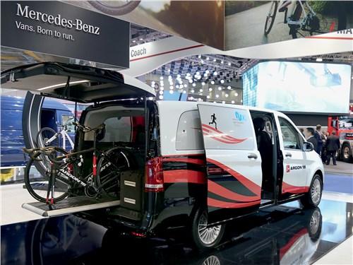 Фургон Mercedes-Benz Vito, адаптированный для перевозки велосипедов