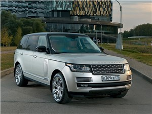 Land Rover Range Rover LWB - range rover lwb 2014 большой босс