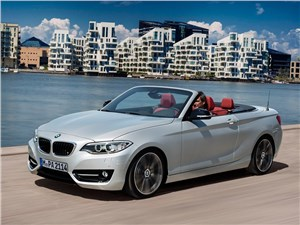 Новый BMW 2 Series - BMW 2 Series Convertible 2014 На воздух