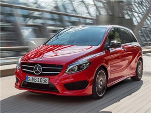 Новость про Mercedes-Benz B-Class - Mercedes-Benz B-Klasse 2015