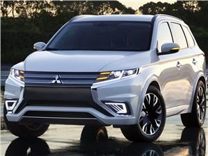 Mitsubishi Outlander PHEV Concept-S 2014 вид спереди