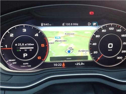 Audi A5 Coupe 2017 приборная панель
