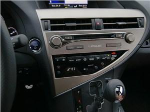 Lexus RX 450h F-Sport 2014 центральная консоль