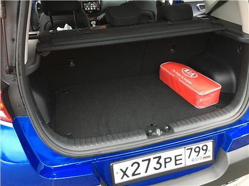 Kia Soul 2020 багажное отделение