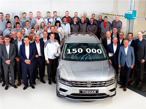 В России собрали юбилейный Volkswagen Tiguan