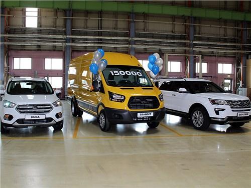 Новость про Ford - На заводе Ford в Елабуге собрали 150-тысячный автомобиль