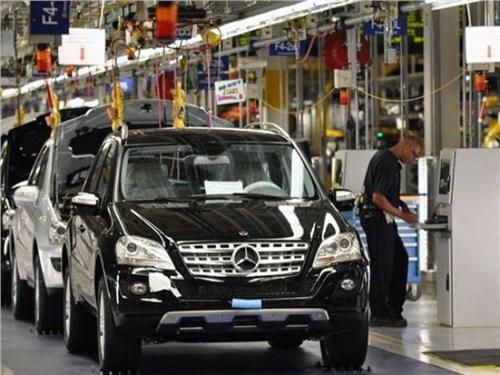 Mercedes откроет завод в Подмосковье